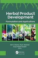 Herbal Product Development PDF
