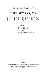 The Works of John Ruskin: Volume 10