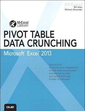 Excel 2013 Pivot Table Data Crunching PDF