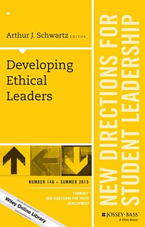 Developing Ethical Leaders PDF