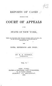 Reports of Cases Decided in the Court of Appeals of the State of New York: Volume 50