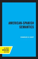 American-Spanish Semantics