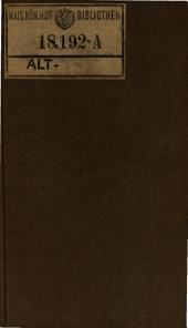 und Sophie Bernardi. Bambocciaden. - Berlin, Friedrich Maurer 1797-1800