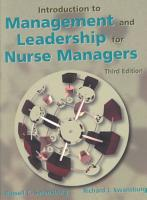 Introduction to Management and Leadership for Nurse Managers PDF