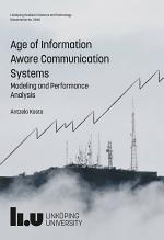Age of Information Aware Communication Systems