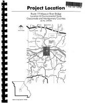 Route 19 Missouri River Replacement Bridge Project, Gasconade and Montgomery Counties: Environmental Impact Statement