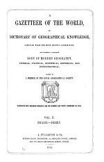 A Gazetteer of the World: Brazil-Derry