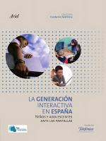 La Generaci  n Interactiva en Espa  a PDF