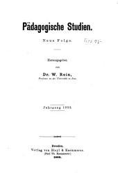 Pädagogische Studien: Band 9