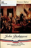 John Dickinson PDF