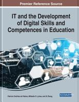 IT and the Development of Digital Skills and Competences in Education PDF