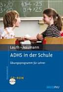 ADHS in der Schule PDF
