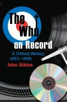 The Who on Record PDF