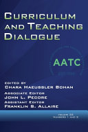 Curriculum and Teaching Dialogue Volume 22  Numbers 1   2  2020 PDF