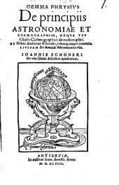 De principiis astronomiae et cosmographiae