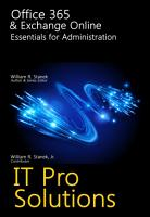 Office 365   Exchange Online  Essentials for Administration PDF