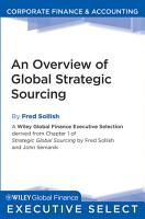 An Overview of Global Strategic Sourcing PDF