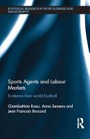 Sports Agents and Labour Markets PDF