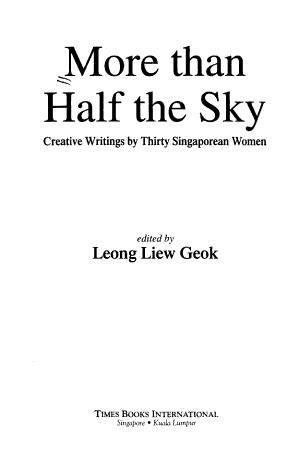 More Than Half the Sky