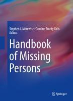 Handbook of Missing Persons PDF
