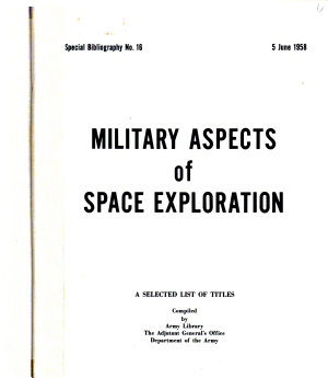 Military Aspects of Space Exploration PDF