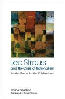 Leo Strauss and the Crisis of Rationalism PDF