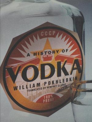 A History of Vodka