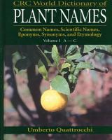 CRC World Dictionary of Plant Names PDF