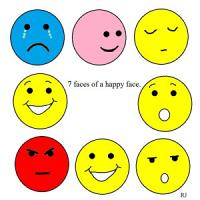 7 faces of a  Happy Face   PDF
