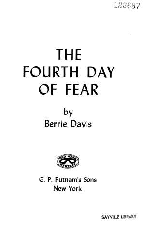 The Fourth Day of Fear