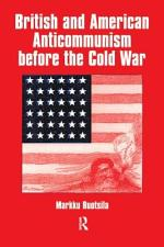 British and American Anticommunism Before the Cold War
