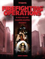 Firefighting Operations in High Rise and Standpipe Equipped Buildings PDF