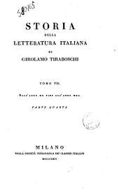 Storia Della Letteratura Italiana Volume XIII