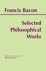 Bacon: Selected Philosophical Works