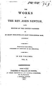 The Works of the Rev. John Newton ...