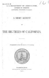 A short account of the big trees of California
