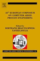 18th European Symposium on Computer Aided Process Engineering PDF