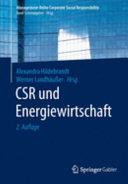 CSR und Energiewirtschaft PDF