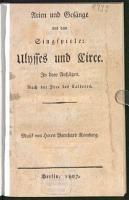 Arien und Ges  nge aus dem Singspiele  Ulysses und Circe0 PDF