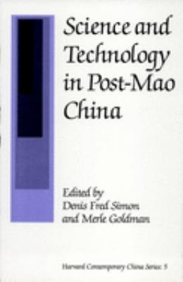 Science and Technology in Post Mao China PDF