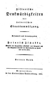 Historische Denkwürdigkeiten der helvetischen Staatsumwälzung: Volume 6