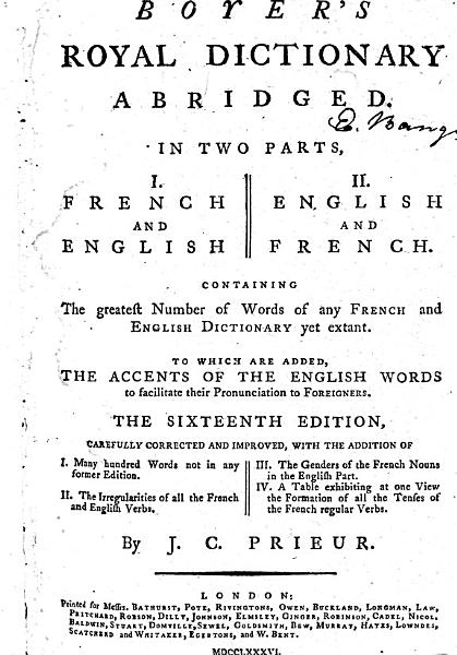 Download Boyer s Royal Dictionary Abridged Book