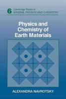 Physics and Chemistry of Earth Materials PDF