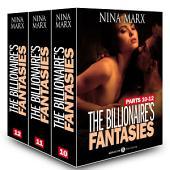 Boxed Set: The Billionaire's Fantasies, parts 10-12