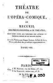 Théatre de l'opéra-comique, ou Recueil des pièces restées à ce théatre [...]: La rosière de Salenci