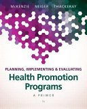 Planning  Implementing  and Evaluating Health Promotion Programs PDF