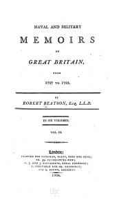 Naval and Military Memoirs of Great Britain, from 1727 to 1783: Volume 3