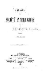 Bulletin et annales: Volumes16à17