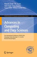 Advances in Computing and Data Sciences PDF