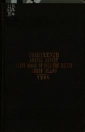 Annual Report: Volume 13